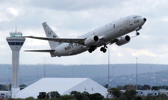 """""""Reuters""""/""""Scanpix"""" nuotr./JAV karinių pajėgų lėktuvas """"Poseidon"""