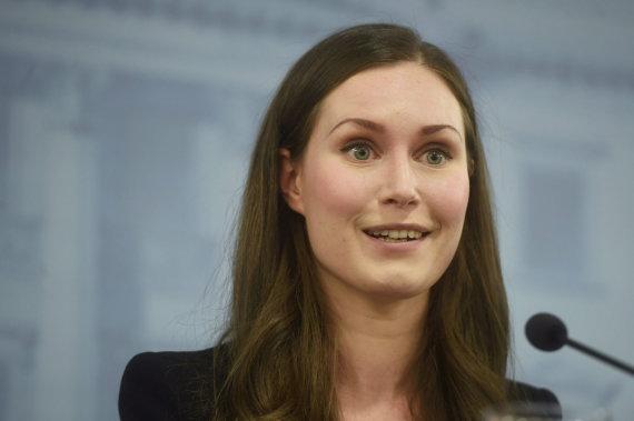 "AFP/""Scanpix"" nuotr./Sanna Marin"