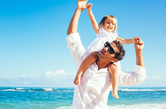 """""""Fotolia"""" nuotr./Tėvas su dukra"""