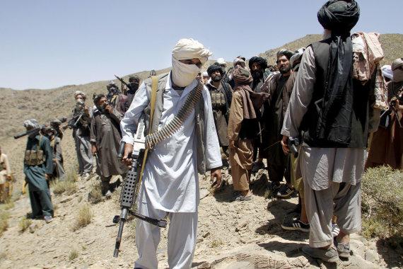 """""""Scanpix""""/AP nuotr./Talibano kovotojai"""