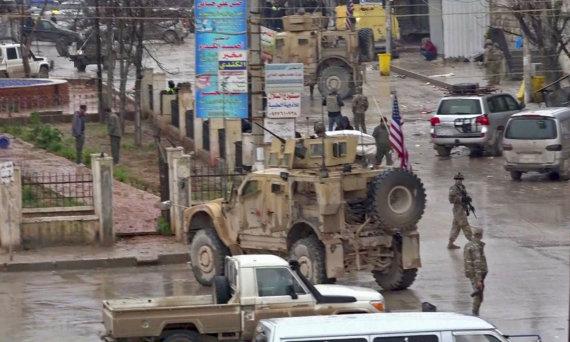 """AFP/""""Scanpix"""" nuotr./JAV kariai Sirijoje"""