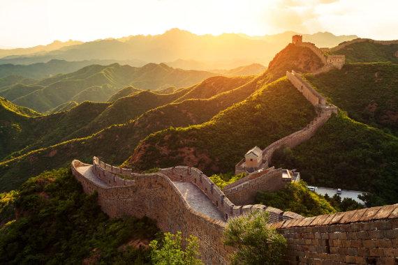 Shutterstock nuotr./Didžioji kinų siena, Kinija