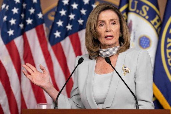 """AFP/""""Scanpix"""" nuotr./Nancy Pelosi"""