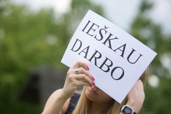 Juliaus Kalinsko / 15min nuotr./Bedarbystė