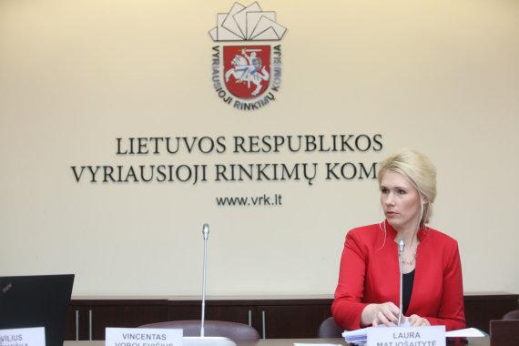 Vidmanto Balkūno / 15min nuotr./Vyriausiosios rinkimų komisijos posėdis