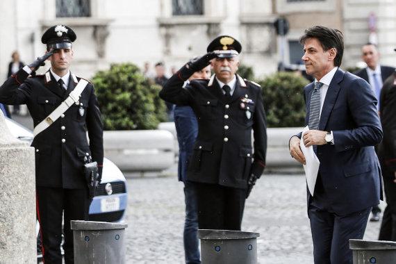 """""""Scanpix""""/AP nuotr./Giuseppe Conte – naujasis Italijos premjeras"""