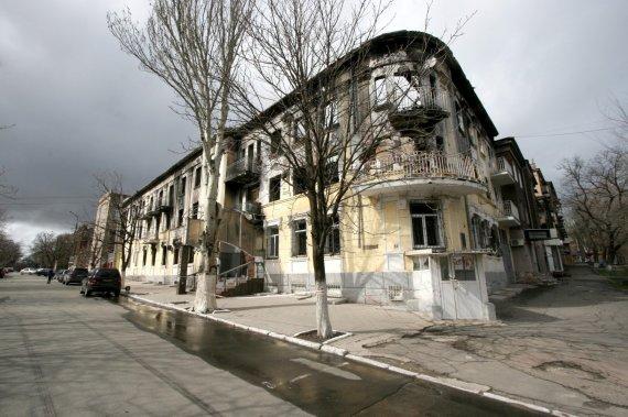 Alvydo Januševičiaus nuotr./Karo padariniai Mariupolyje matomi iki šiol