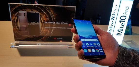 "Vaido Neverausko / 15min nuotr./""Huawei Mate 10"""