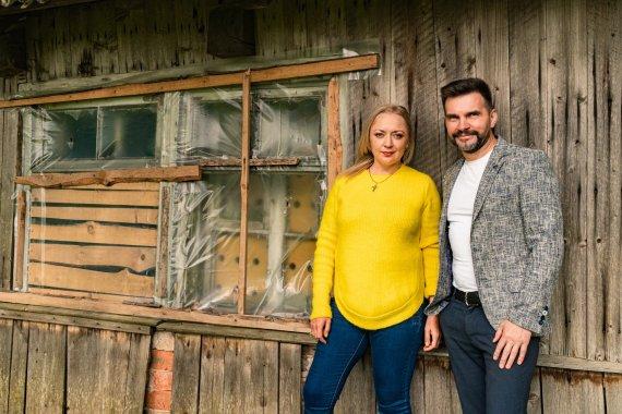 Asmeninio albumo nuotr./Beata Wilkin-Judickienė ir Igoris Jarmolenka