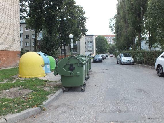 Klaipėdos miesto sav. nuotr./Rumpiškės gatvė Klaipėdoje