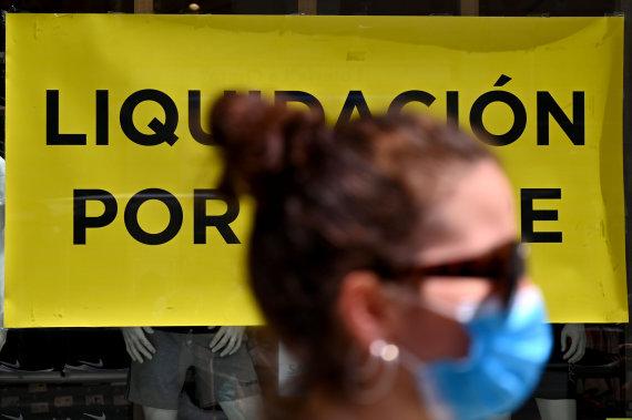 "AFP/""Scanpix"" nuotr./Koronavirusas Ispanijoje"