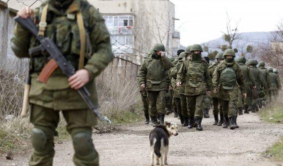 """""""Reuters""""/""""Scanpix"""" nuotr./Rusų kariai Ukrainoje"""
