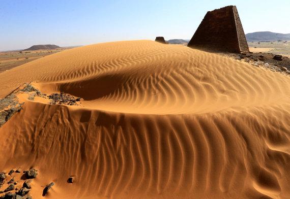 """Reuters""/""Scanpix"" nuotr./Piramidės Sudane"