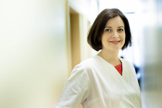 Vilniaus dietologijos centro gydytoja dietologė Eglė Kliukaitė.