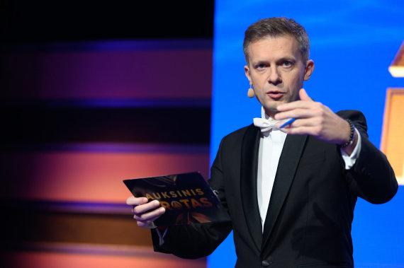 """Pauliaus Lileikio ir TV žaidimo """"Auksinis protas"""" nuotr./Andrius Tapinas"""