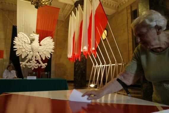 """Reuters""/""Scanpix"" nuotr./Prezidento rinkimai Lenkijoje"