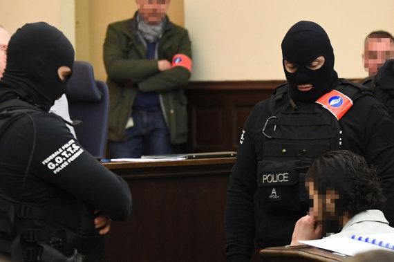 "AFP/""Scanpix"" nuotr./Salahas Abdeslamas teisme"