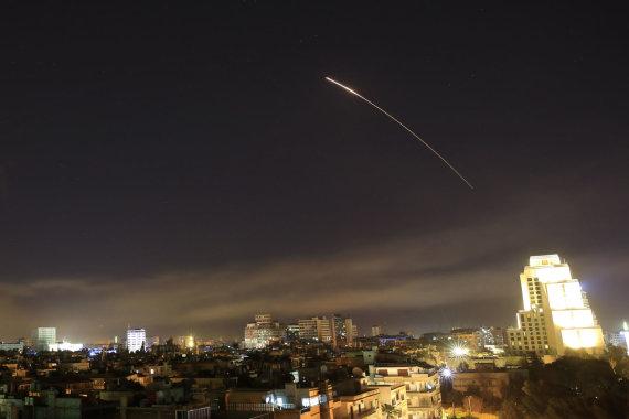 """""""Scanpix""""/AP nuotr./JAV smogė taikiniams Sirijoje"""