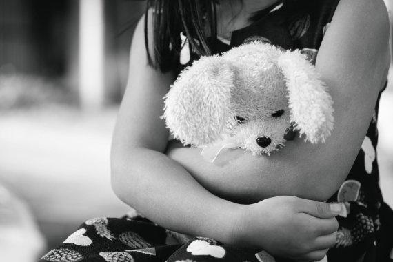 Vida Press nuotr./Mergaitė su žaislu/ Asociatyvi nuotr.