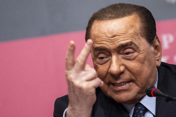 """Scanpix"" nuotr./Silvio Berlusconi"