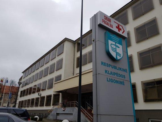 J. Andriejauskaitės / 15min nuotr./Respublikinė Klaipėdos ligoninė