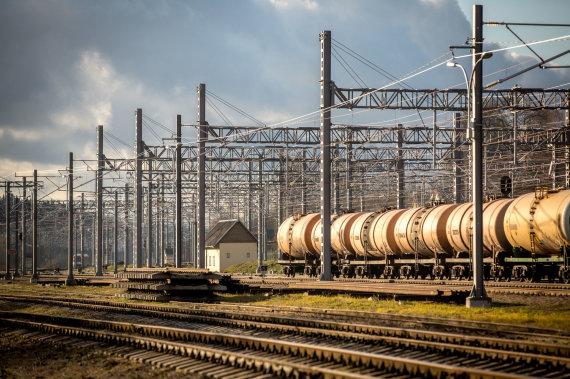 Vidmanto Balkūno / 15min nuotr./Naujosios Vilnios geležinkelio stotis