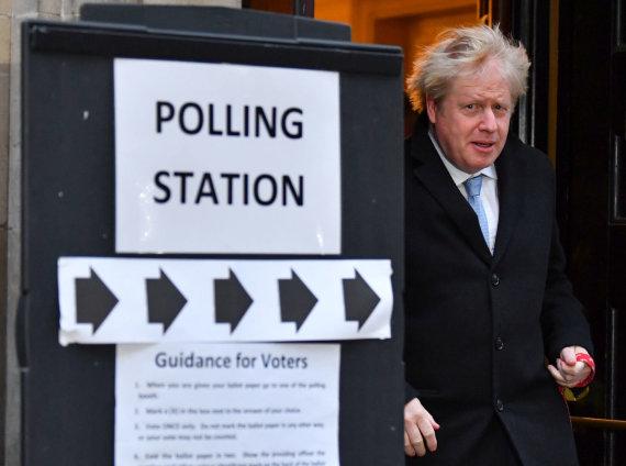 """""""Reuters""""/""""Scanpix"""" nuotr./RInkimai Jungtinėje Karalystėje"""
