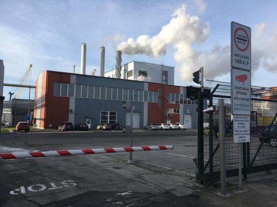 """Aurelijos Jašinskienės/15min.lt nuotr./""""Grigeo Klaipėda"""" fabrikas uostamiestyje"""