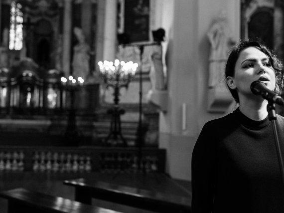 Lino Dambrausko nuotr./Monikos Kazakevičiūtės ir Jono Kriščiūno vestuvių akimirka