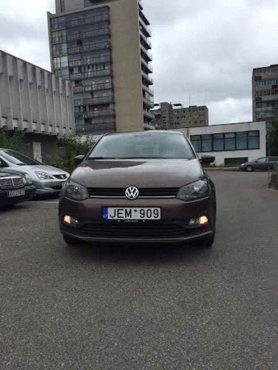 """""""Mollerauto"""" nuotr./Sugrupuotų žibintų pavyzdys automobilyje """"Volkswagen Polo"""""""