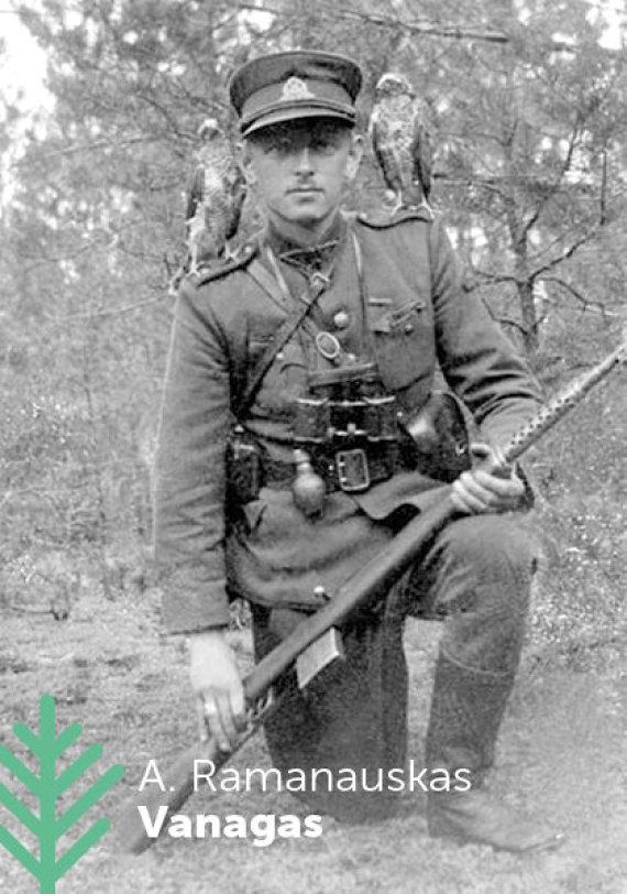 Akcijos organizatorių nuotr./Adolfas-Ramanauskas-Vanagas