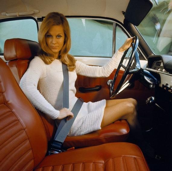 """""""Volvo"""" nuotr./Trijų taškų saugos diržai"""