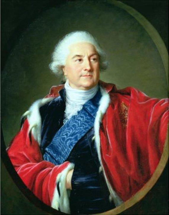Paskutinis Lietuvos ir Lenkijos karalius Stanislovas Augustas Poniatovskis