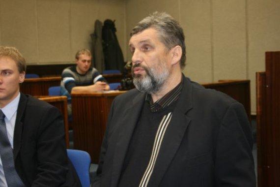 I.Ozturhan/15min.lt nuotr./Žuvininkystės aukciono vedėjas Mindaugas Kokoška.