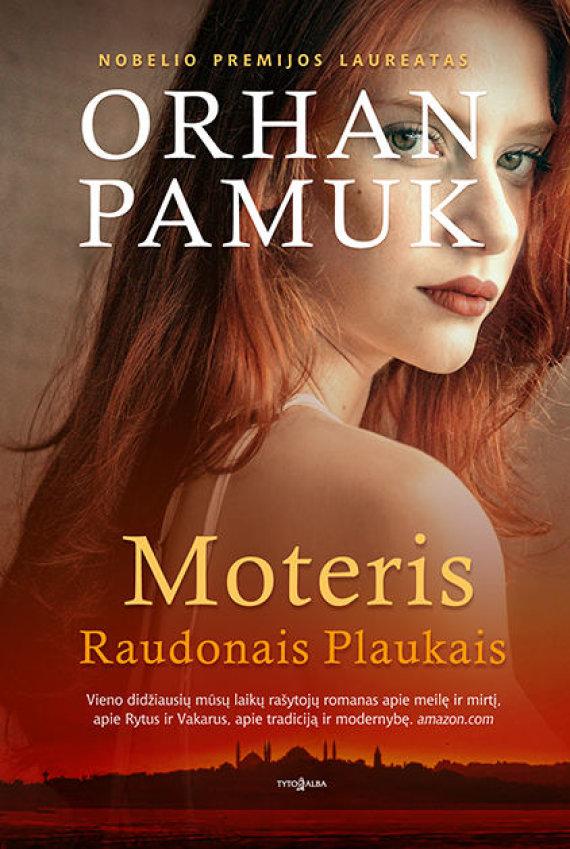 Knygos viršelis/Knyga Moteris raudonais plaukais