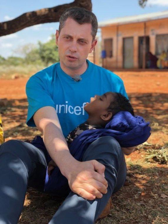 UNICEF nuotr./Ričardas Doveika Etiopijoje