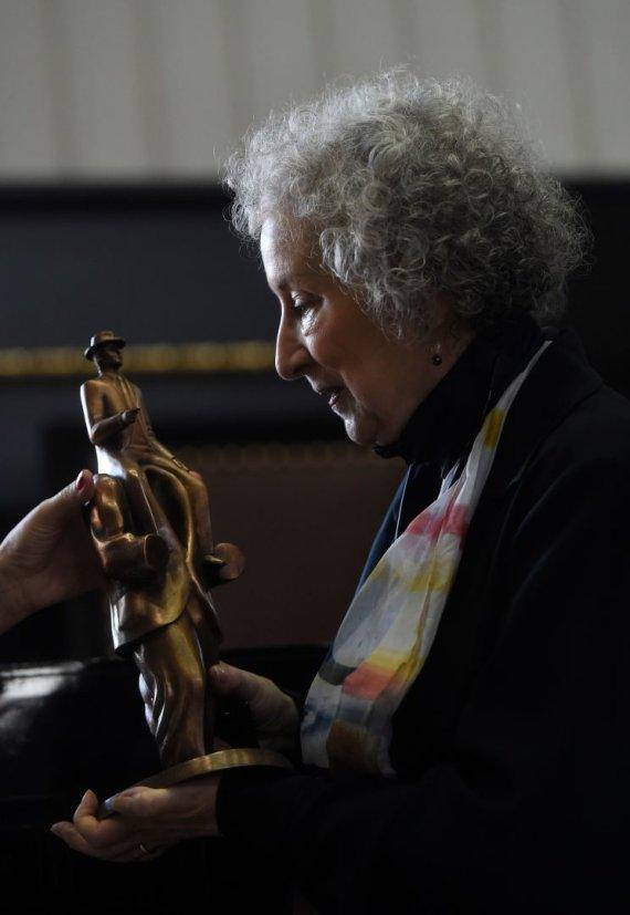 "AFP/""Scanpix"" nuotr./Margaret Atwood"