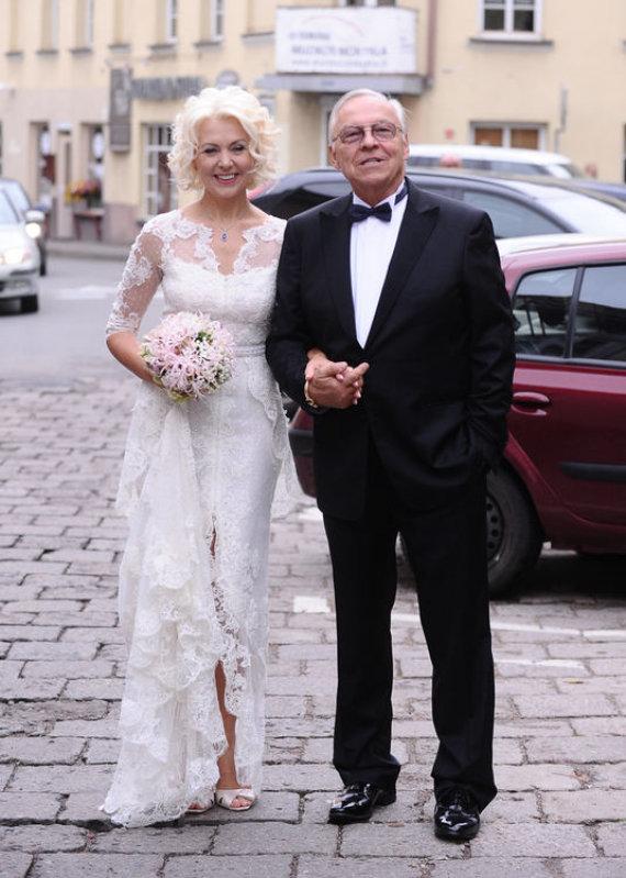 Danutė Elzbergienė-Petrauskas ir  Raimundas Vincentas Petrauskas