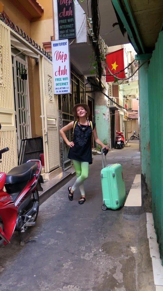 Asmeninio archyvo nuotr./Eglė Šimkevičiūtė-Kulvelis Vietname