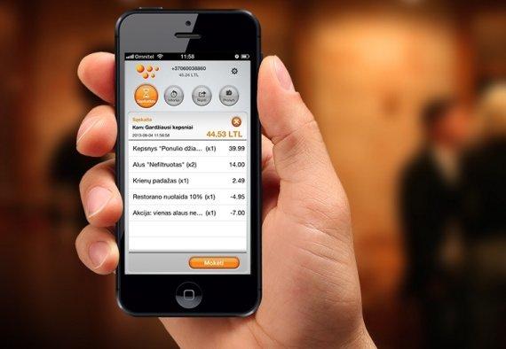 """Worapay.com iliustr./""""WoraPay"""" mobiliųjų mokėjimų programėlė"""