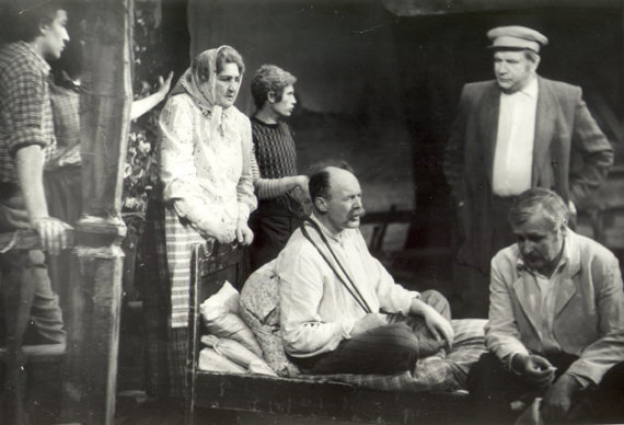 """LNDT archyvo nuotr./Spektaklis """"Žaldokynė"""", 1948"""