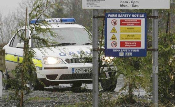 """AFP/""""Scanpix"""" nuotr./Airijos policija."""