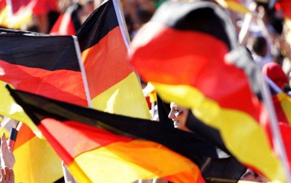 """""""Scanpix"""" nuotr./Vokietijos vėliava"""
