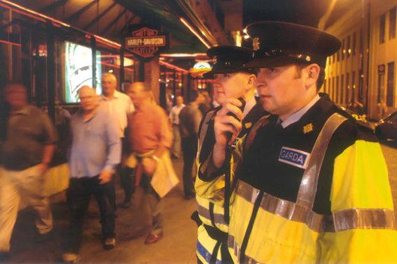 garda.ie nuotr./Dublino policija