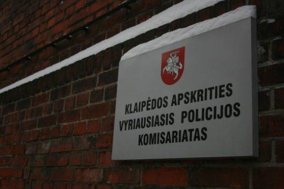 J.Andriejauskaitės nuotr./Klaipėdos vyriausiasis policijos komisariatas.