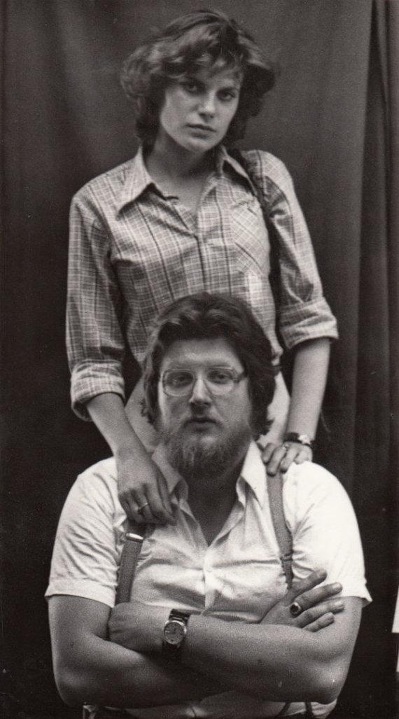 A.Ostasenkovo nuotr. /Virgis ir Ramutė Stakėnai (1979 m,)