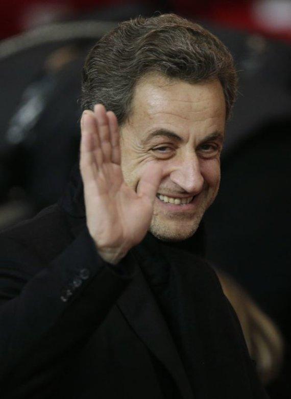 """""""Reuters""""/""""Scanpix"""" nuotr./Nicolas Sarkozy"""