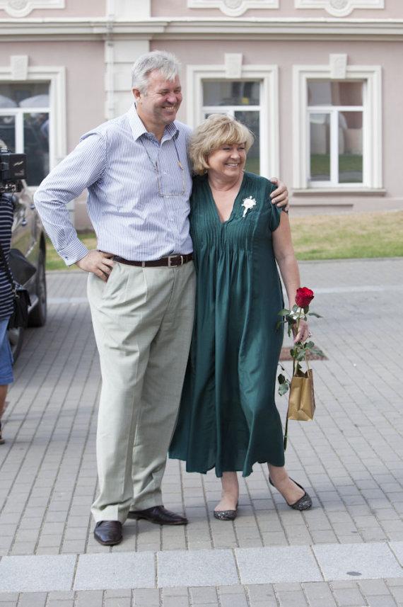 Mariaus Žičiaus/Žmonės.lt nuotr. /Edita Mildažytė ir Gintautas Vyšniauskas