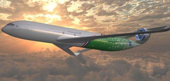 NASA nuotr./Elektrinio lėktuvo konceptas