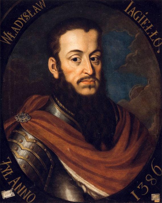 Wikimedia.org nuotr./Lietuvos didysis kunigaikštis ir Lenkijos karalius Jogaila